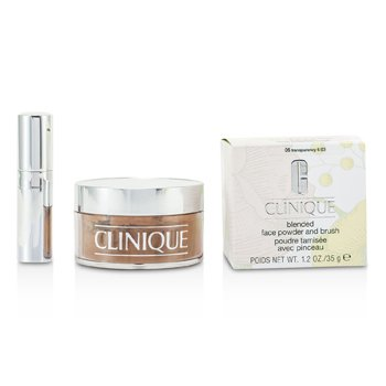 Clinique-Blended Face Powder + Brush - No. 05 Transparency; Premium price due to scarcity