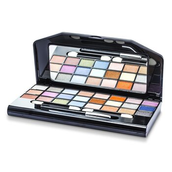 Cameleon MakeUp Kit G1672-1 : 24xE/shdw, 1xE/Pencil, 4xL/Gloss, 4xBlush, 2xPressed Pwd..