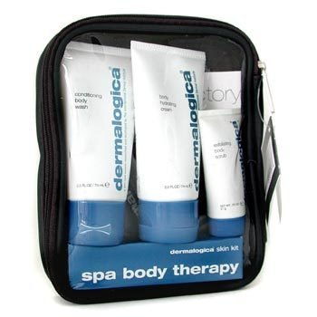 Dermalogica-Spa Body Therapy Kit: Body Wash+ Body Hydrating Cream+ Body Scrub