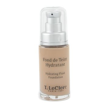 T. LeClerc-Hydrating Fluid Foundation SPF 8 - No. 02 Clair