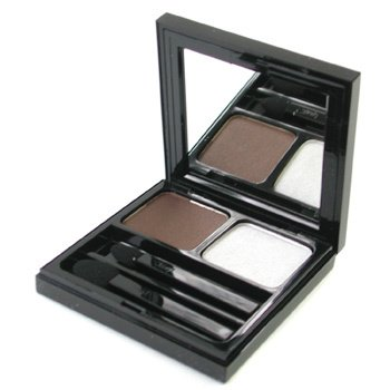 Yves Saint Laurent-Ombre Vibration Duo - #35 Chocolate/Silvered Frost