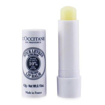 L'OccitaneShea Butter Lip Balm Stick 4.5g/0.15oz