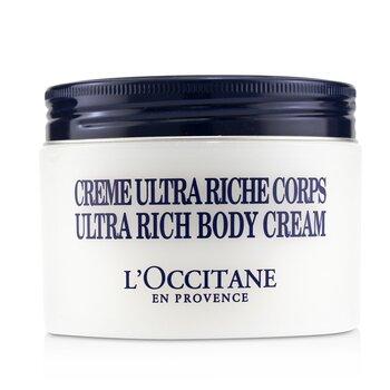 Shea Butter Ultra Rich Body Cream L'Occitane Shea Butter Ultra Rich Body Cream 200ml/7oz