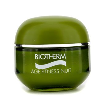 Biotherm-Age Fitness Power 2 Recharging & Renewing Night Treatment ( Dry Skin )