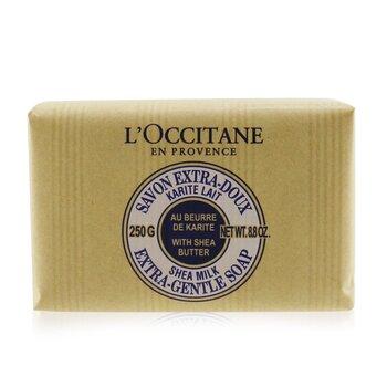 L'OccitaneShea Butter Extra Suave Jabon - Milk 250g/8.8oz
