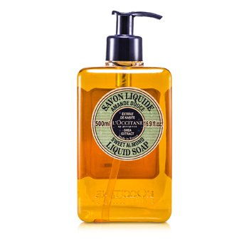 L'Occitane Shea Butter Liquid Soap - Sweet Almond  500ml/16.9oz