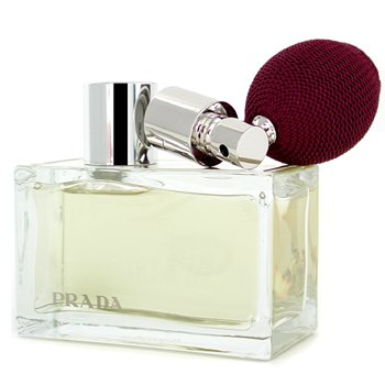 Prada Amber Eau De Parfum Deluxe Refillable Spray 80ml/2.7oz ladies fragrance