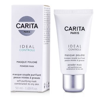 Carita-Ideal Controle Powder Mask ( Combination to Oily Skin )