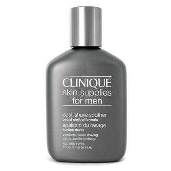 Clinique-Skin Supplies For Men: Post Shave Soother Beard Control Formula