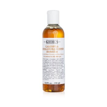 Kiehl'sCalendula Herbal Extract Alcohol-Free Desmaquilladora ( Piel Normal/Grasa ) 250ml/8.4oz
