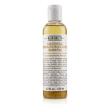 Kiehl'sCalendula Herbal Extract Alcohol-Free Desmaquilladora ( Piel Normal/Grasa ) 125ml/4.2oz