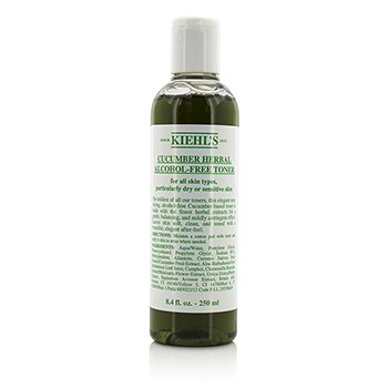 Kiehl's Cucumber Herbal Alcohol-Free Toner (Dry or Sensitive Skin) 250ml/8.4oz