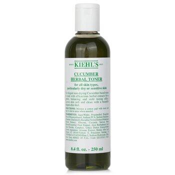 CleanserCucumber Herbal Alcohol-Free Toner (Dry or Sensitive Skin) 250ml/8.4oz
