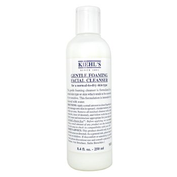 Kiehl`s Gentle Foaming Facial Cleanser (For Normal to Dry Skin) 250ml/8.4oz