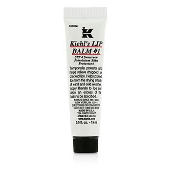 Kiehl'sLip B�lsamo # 1 Tubo ( SPF 4 Sunscreen Petrolatum Lip Protectant ) 15ml/0.5oz