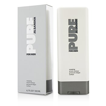 Jil Sander Pure For Men Energizing All Over Shampoo  200ml/6.7oz