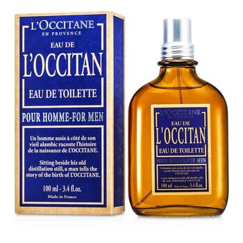 L'Occitane Eau De L'Occitane Pour Homme Agua de Colonia Vaporizador  100ml/3.4oz