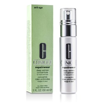 Clinique-Repairwear Deep Wrinkle Concentrate ( For Face & Eye )