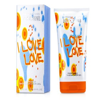 MoschinoI Love Love Perfumado Gel de Ba�o y Ducha 200ml/6.7oz