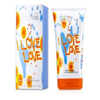 Moschino I Love Love Perfumado Gel de Ba�o y Ducha  200ml/6.7oz