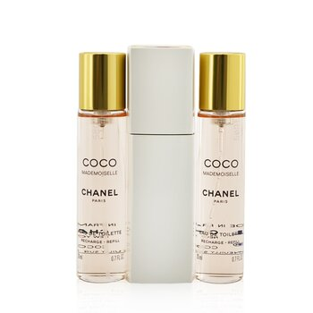 Chanel Coco Mademoiselle Twist & Spray Eau De Toilette  3x20ml/0.7oz