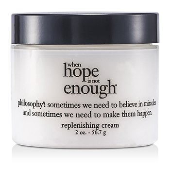 PhilosophyWhen Hope is Not Enough Replenishing Cream (Dry/ Delicate Skin) 56.7g/2oz