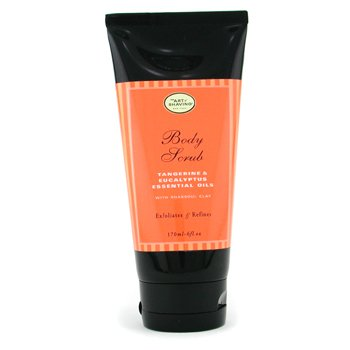 The Art Of Shaving-Body Scrub - Tangerine & Eucalyptus Essential Oils w/ Rhassoul Clay