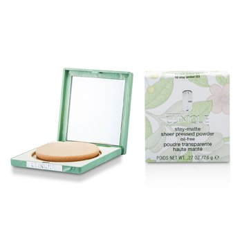 Clinique-Stay Matte Powder Oil Free - No. 10 Stay Amber