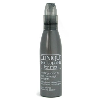Clinique-Skin Supplies For Men: Soothing Shave Oil ( All Skin Types )