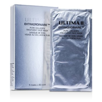Ultima Extraordinaire Pure Collagen Treatment Face Mask  5x20ml