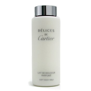 Cartier-Delices de Cartier Soft Body Milk