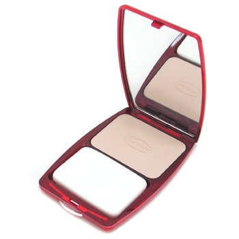 Clarins-Express Compact Foundation Wet/ Dry - # 02 Porcelain Beige