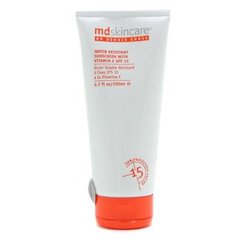 MD Skincare Water Resistant Sunscreen with Vitamin C SPF 15  200ml/6.7oz