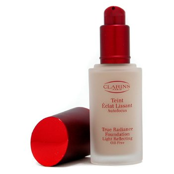 Clarins-True Radiance Foundation Light Reflecting Oil Free - #02 Pale Ivory