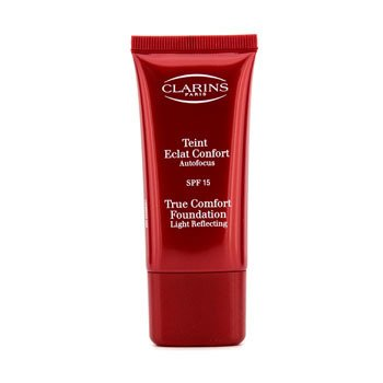 Clarins-True Comfort Foundation Light Reflecting SPF 15 - #07 Tender Ivory