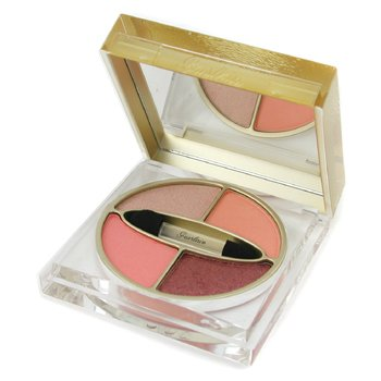 Guerlain-Divinora Radiant Color Palette 4 Shade Eyeshadow - #242 Touche Mandarine
