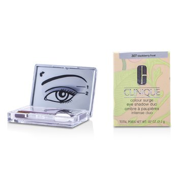 Clinique Color Surge Eyeshadow Duo - No. 307 Blackberry Frost 6G0W-07 1.8g/0.06oz