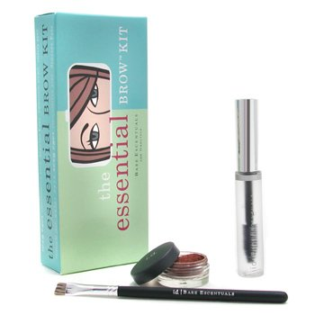 Bare Escentuals-i.d. Essential Brow Kit - Auburn ( Brow Color + Brow Finishing Gel + Brush )