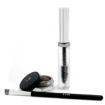 Bare Escentuals-i.d. Essential Brow Kit - Brunette ( Brow Color + Brow Finishing Gel + Brush )