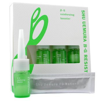 Shu Uemura-B-G Reinforcing Booster: 4xReinforcing Booster 0.8g + 4xFD Water 5ml
