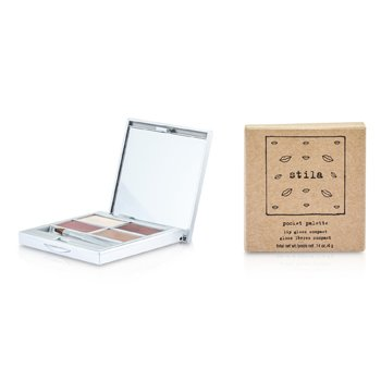 Stila-Pocket Palette Lip Gloss Compact - Quad no.2