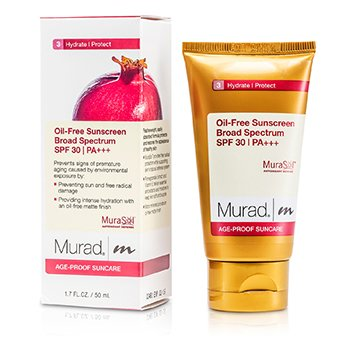 MuradOil-Free Sunblock SPF 30 for Face 50ml/1.7oz