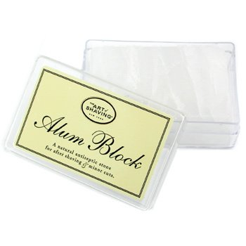The Art Of Shaving-Alum Block Natural Antiseptic Stone ( For After Shaving & Minor Cuts )