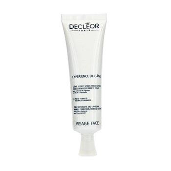 Decleor-Triple Action Eye & Lip Cream ( Salon Size )