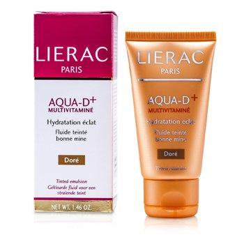 LieracAqua D+ Multivitamine Teint Emulsion - Dore 40ml/1.46oz