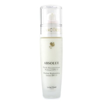 Lancome-Absolute Replenishing Fluid SPF15 ( Made in USA )