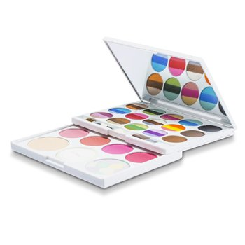 Arezia Kit de Maquiagem AZ 01205 ( 36 Cores de Sombra   4x Blush  3x Pó Para Sobrancelha   2x Pó facial ) -