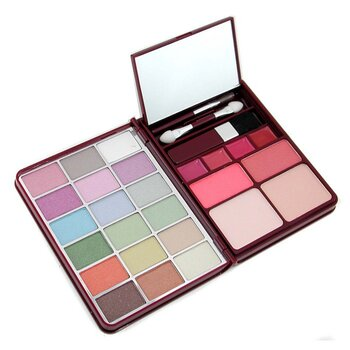 Cameleon-MakeUp Kit G0139-1 : 18x Eyeshadow, 2x Blusher, 2x Pressed Powder, 4x Lipgloss