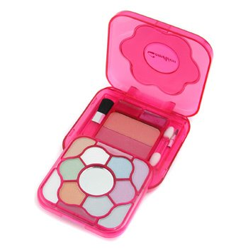 Cameleon-MakeUp Kit 303-1: 10x Powder Eye Shadow, 2x Compact Blusher, 4x Lip Gloss