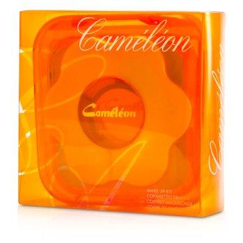 Cameleon-MakeUp Kit 303-2: 10x Powder Eye Shadow, 2x Compact Blusher, 4x Lip Gloss